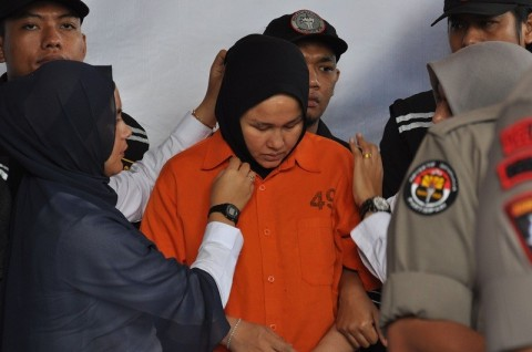 Otak Pembunuhan Hakim Medan Menangis Saat Rekonstruksi