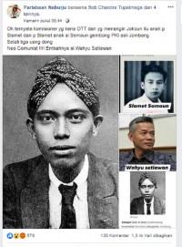 [Cek Fakta] Eks Komisioner KPU Wahyu Setiawan yang Kena OTT KPK Cucu Gembong PKI? Ini Faktanya