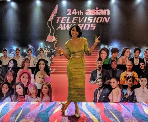 Andini Effendi Kembali Jadi Presenter Terbaik di Asia