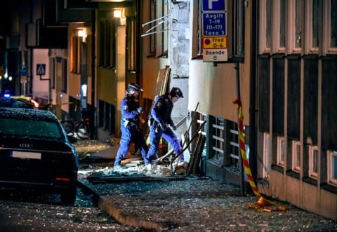 Ledakan Keras Hantam Kompleks Bangunan di Swedia