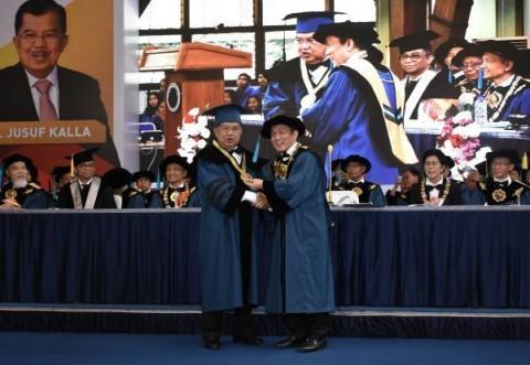 ITB Anugerahkan Doktor Kehormatan untuk Jusuf Kalla