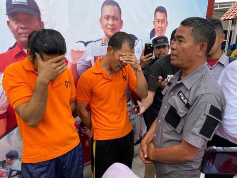 Mantan Polisi Diringkus saat Pesta Sabu