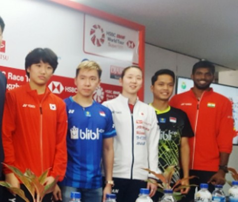 Anthony Ginting Ingin Bangkit di Indonesa Masters