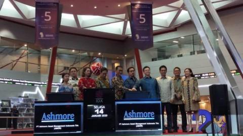 <i>Listing</i> Perdana, Saham Ashmore Melesat 50%