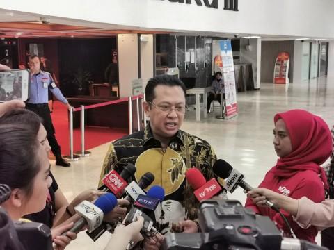 Pimpinan KPK Silaturahmi ke MPR