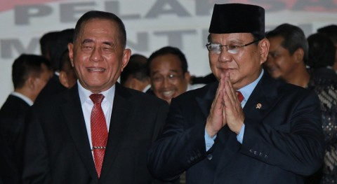 Prabowo Hati-hati Usut Kasus ASABRI