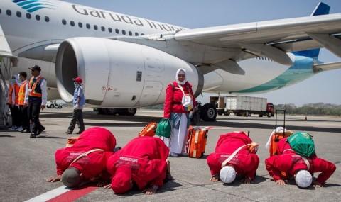 Dishub Jabar Simulasi Pemberangkatan Calon Jemaah Haji