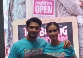 Reza Rahadian dan Marsha Timothy Saling Memuji di Film Toko Barang Mantan