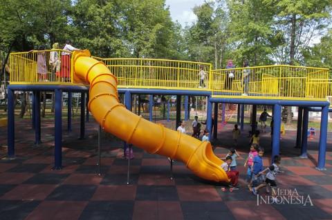 Wajah Baru taman Puring Setelah Direvitalisasi
