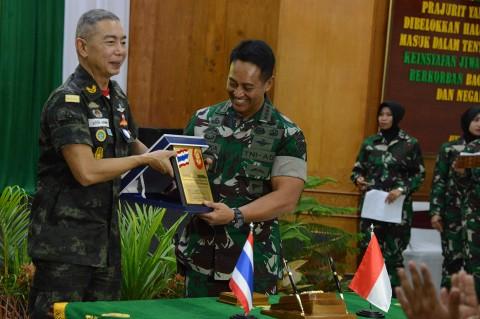 TNI AD dan Tentara Thailand Jalin Kerja Sama Pelatihan Militer