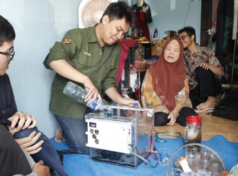 Mahasiswa ITS Rancang Pengolah Limbah Batik