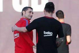 Respons Messi atas Pemecatan Valverde