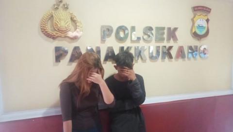 Pasutri di Makassar Curi Uang dengan Modus Prostitusi Online