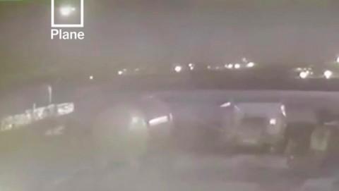 Dua Rudal Iran Menghantam Pesawat Ukraina Terekam Kamera
