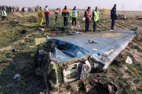 Iran Tangkap Perekam Video Tragedi Pesawat Ukraina