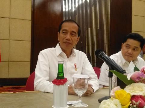 Jokowi Perintahkan Naskah Akademik Omnibus Law Dikebut