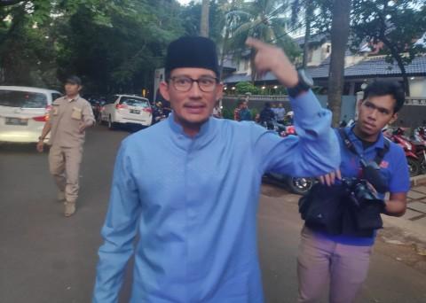 Jokowi Singgung Sandiaga Kandidat Kuat Capres 2024