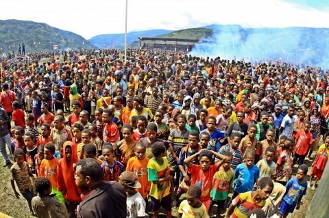 Angka Kemiskinan di Papua Turun