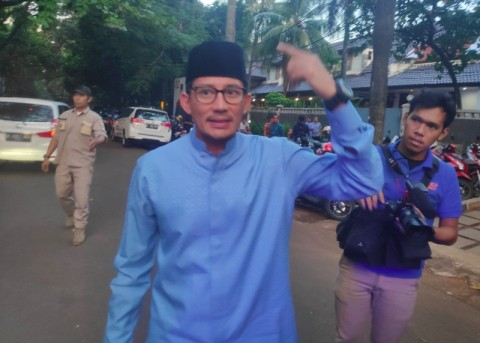 Jokowi Hinted that Sandiaga is a Strong Candidate for 2024