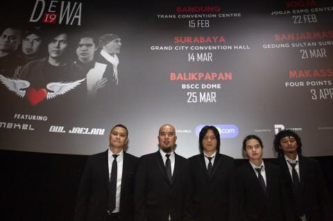 Dewa 19 Siapkan Konser 20 Tahun Album Bintang Lima