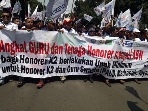 Honorer K2: Kami Sudah Menua, Butuh Kejelasan dan Gaji Layak