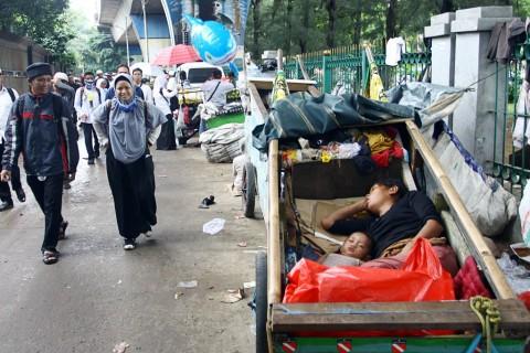 Orang Miskin di Indonesia Tersisa 24,79 Juta