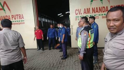 Pabrik Scaffolding di Sidoarjo Terbakar, 1 Karyawan Tewas