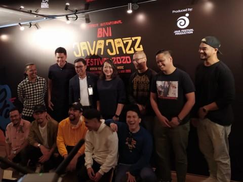 Java Jazz 2020 Ekspresif dengan Konsep Dekorasi Bertema Doodle