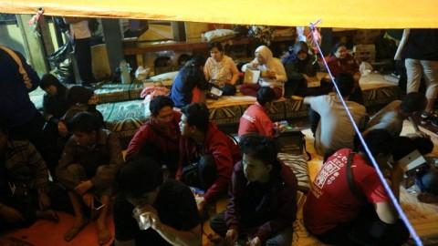 Difabel Wyata Guna Masih Bertahan di Tenda