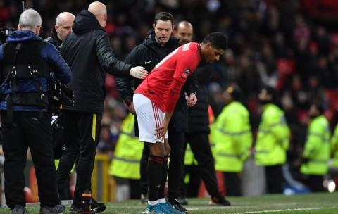 Cedera Punggung, Rashford Terancam Absen Hadapi Liverpool