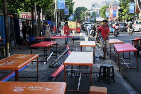 Legislator Usul PKL Jalan Sabang Direlokasi ke Thamrin 10