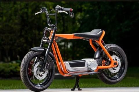 Motor Listrik Harley-Davidson Ini Usung Desain Unik