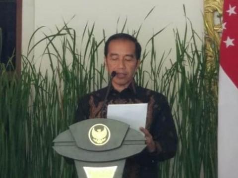 Presiden Jokowi Tinjau Integrated Digital Workplace di Bappenas