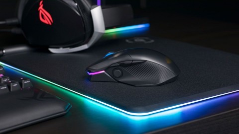 Mouse Gaming ASUS ROG Chakram Punya Joystick