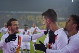Lolos Perempat Final Coppa Italia, Roma Tantang Juventus