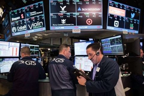 Wall Street Cetak Rekor Tertinggi Baru