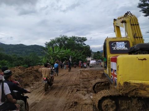 Dua Desa di Bogor Masih Terisolasi