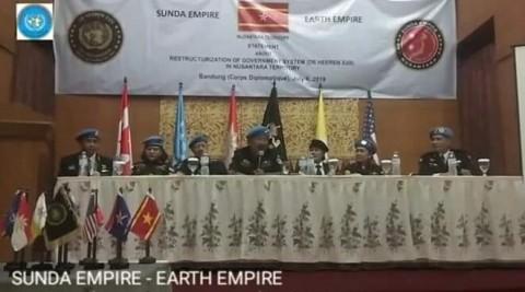 Sunda Empire Klaim Punya 54 Negara