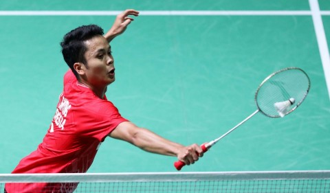 Indonesia Masters 2020: Tekuk Wakil Tiongkok, Ginting Jaga Asa ke Semifinal