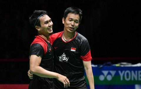 Indonesia Masters 2020: Dramatis, Ahsan/Hendra Melaju ke Semifinal