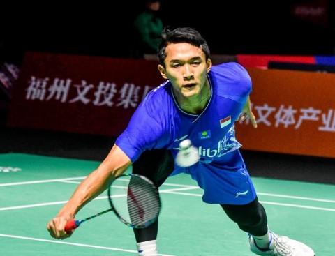 Indonesia Masters 2020: Jonatan Christie Tersingkir