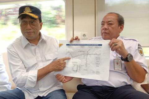 Perjalanan Kereta Relasi Jakarta-Merak Akan Dipercepat