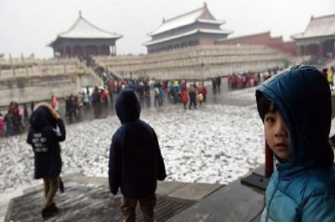 Masuk ke Kota Terlarang, Wanita Tiongkok Dikecam
