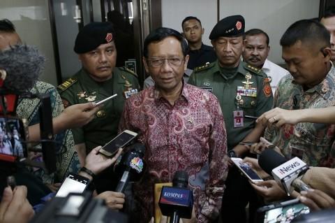 Mahfud Minta Prajurit TNI Tak Resah Soal ASABRI