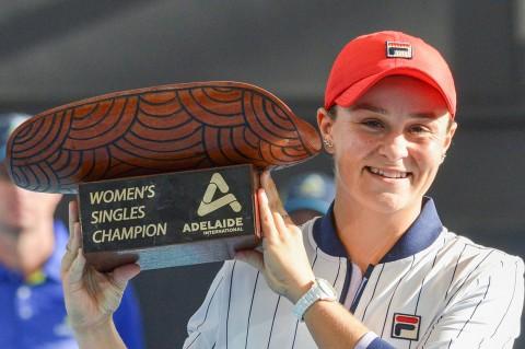Ashleigh Barty Juara Adelaide International