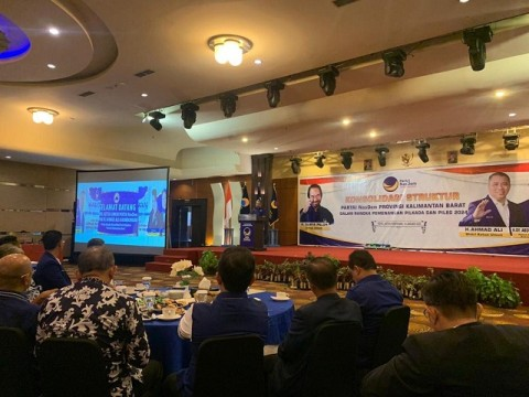 NasDem Kembali Panaskan Mesin Partai di Daerah