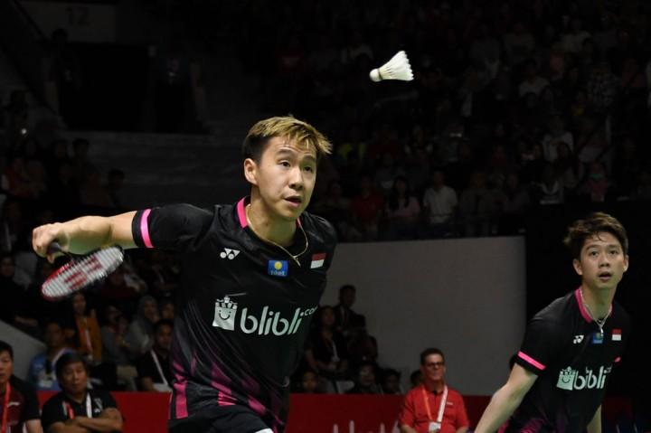 The Daddies Jumpa Minions di Final Indonesia Masters