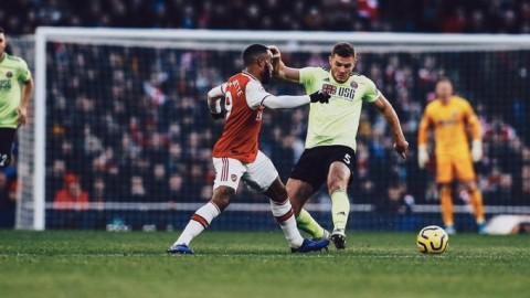 Ditahan Sheffield, Arsenal Gagal Petik Poin Penuh di Kandang