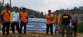 UNS Bantu Korban Longsor Bogor