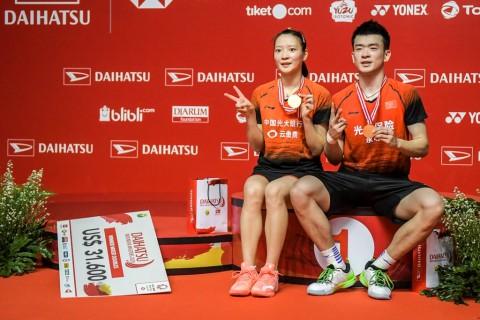 Zheng/Huang Pertahankan Gelar Indonesia Masters 2020